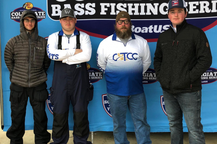 CLTCC launches fishing team, competes in first tournament