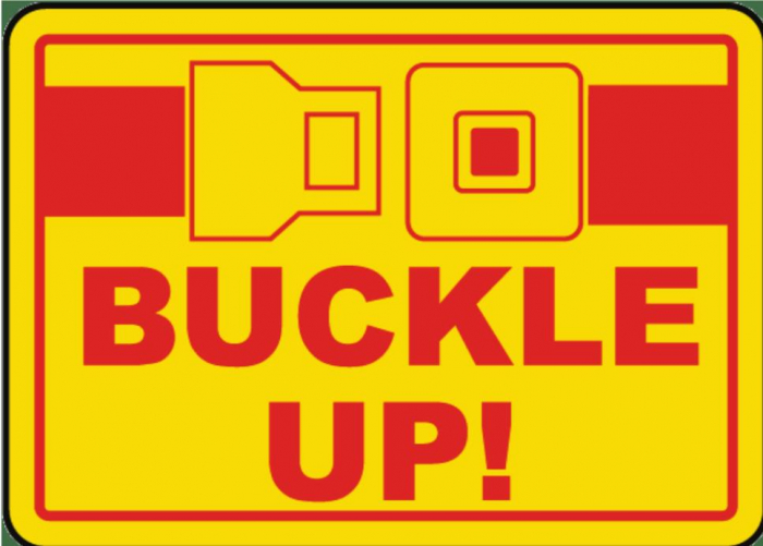 Many Police Dept. encourages you to buckle up and save a life