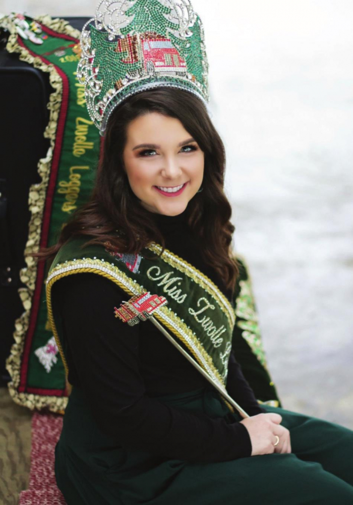 Jenna Gray to continue reign as Forestry, Logger Festival queen