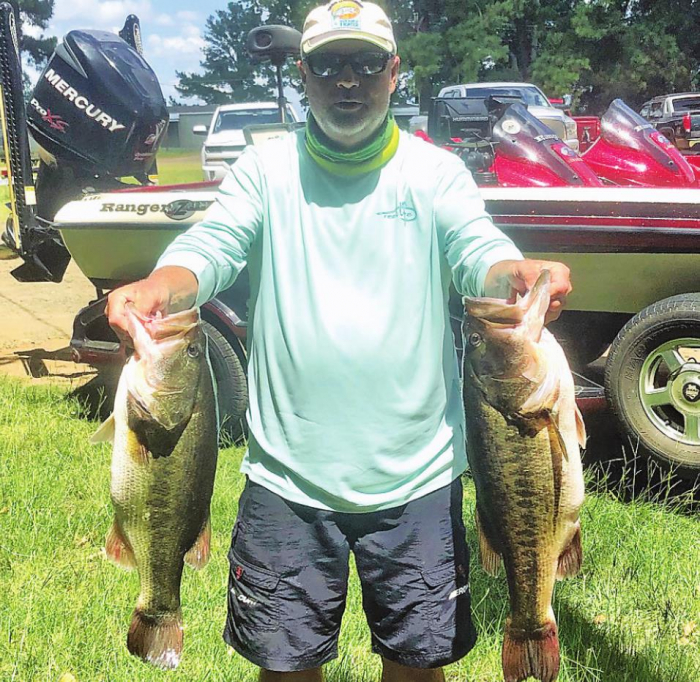 Many Bass Club holds July tournament