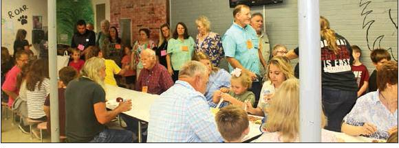 Converse School hosts Grandparents Day