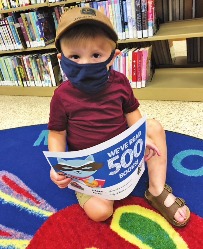 Youngsters make progress in listening to 1,000 books before kindergarten
