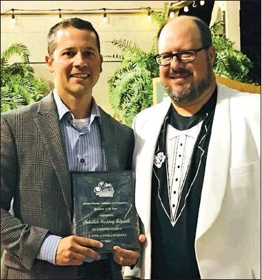 Chamber banquet draws crowd; honors achievers, costume winners