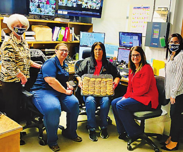 BOM shows thanks for local dispatchers