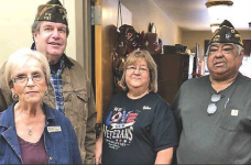 Zwolle-Ebarb VFW donates to local nursing homes