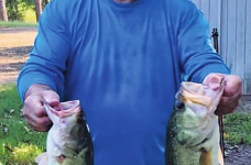 Many Bass Club holds October tournament