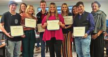 Sabine Chapter DAR recognizes Good Citizens