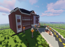 Local NSU student recreating campus in popular video game
