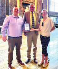 Rep. Schamerhorn honored for term limit support