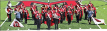 Many Tiger Band earns top honors at Parkway Marching Contest
