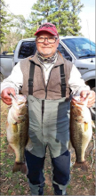 Many Bass Club holds January tournament