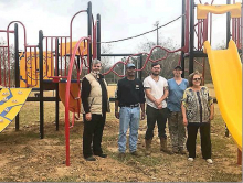 Town of Many receives $20,000 grant for playground equipment