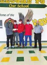 Shriners receive donations from local schools