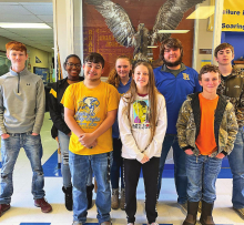 Pleasant Hill students test highly at Northwest District Literary Rally