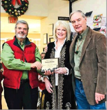 Lamberts, Perry honored at pre-parade reception