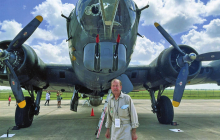 Bobby Williams takes flight on B-17 Super Fortress bomber