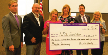 Maggios honored with scholarship after decades of service to NSU
