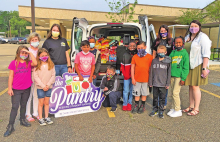 """Zwolle Elementary students participate in """"Leader in Me"""" program; donate to NSU Food Pantry"""