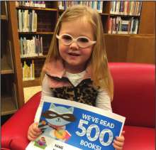 Children reach reading milestones