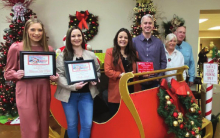 Christmas parade honorees recognized at ceremony
