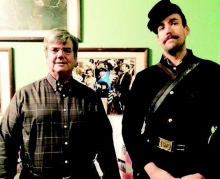 Many's Mayor Ken Freeman and Interpretive Ranger Michael Mumaugh from Mansfield State Historic Site talk about the events during the Civil War that were the basis for the plot of The Horse Soldiers movie.